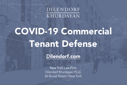 COVID-19 Commercial Tenant Defense