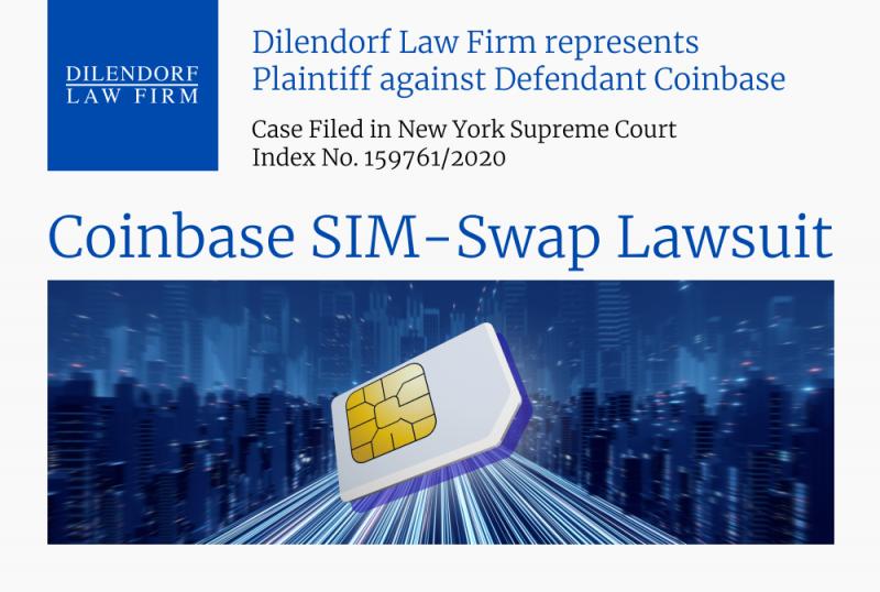 Coinbase SIM-swap Lawsuit