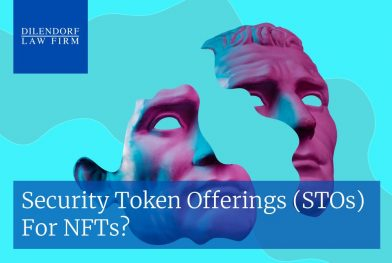 Security Token Offerings (STOs) for NFTs?