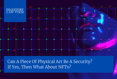 Can a piece of physical art be a security?